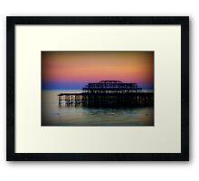 West Pier ©  Framed Print