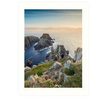 The Malin Head / County Donegal / Ireland Art Print