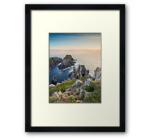 The Malin Head / County Donegal / Ireland Framed Print