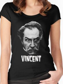 VINCENT PRICE Women's Fitted Scoop T-Shirt