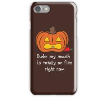 Spicy Pumpkin iPhone Case/Skin