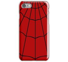 Spider Web - Red iPhone Case/Skin