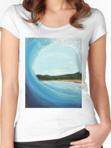 Tropicurl Women's Fitted Scoop T-Shirt