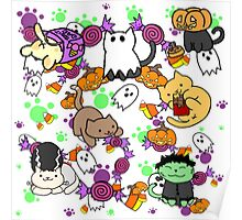 Halloween Cats Poster