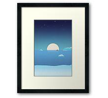 Mer iceberg Framed Print