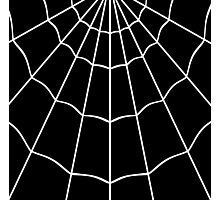 Spider Web - Black Photographic Print