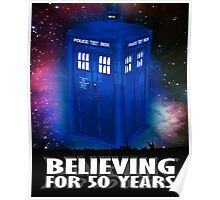DR WHO BELIEVING Poster