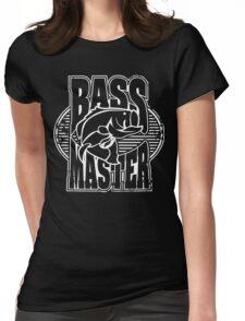 Bass Master Logo Art Womens Fitted T-Shirt
