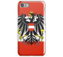 AUSTRIA (BUTTON) iPhone Case/Skin