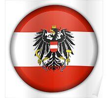 AUSTRIA (BUTTON) Poster