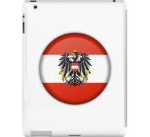 AUSTRIA (BUTTON) iPad Case/Skin
