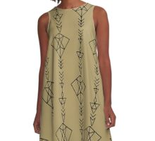 Arrow A-Line Dress