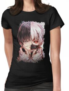 tokyo ghoul kaneki Womens Fitted T-Shirt
