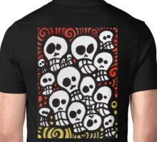 Day of the Dead Sugar Skull Crowd Unisex T-Shirt