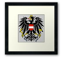 AUSTRIA (COAT OF ARMS) Framed Print