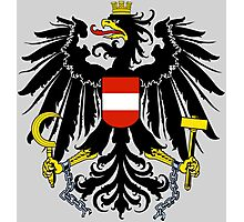 AUSTRIA (COAT OF ARMS) Photographic Print