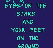 """Keep your eyes on the stars..."" by tatiananori"