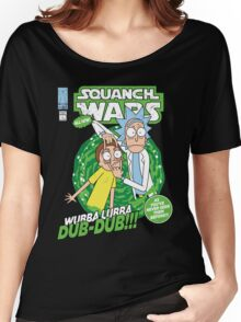 Squanch Wars Women's Relaxed Fit T-Shirt