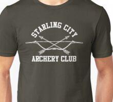 Starling City Archery Club – Arrow, Ollie Queen Unisex T-Shirt