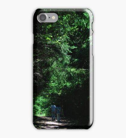 Following the Light iPhone Case/Skin