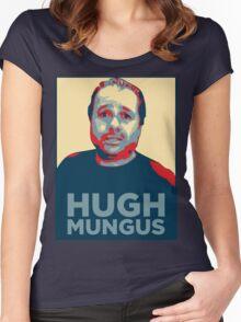 HUGH MUNGUS Women's Fitted Scoop T-Shirt