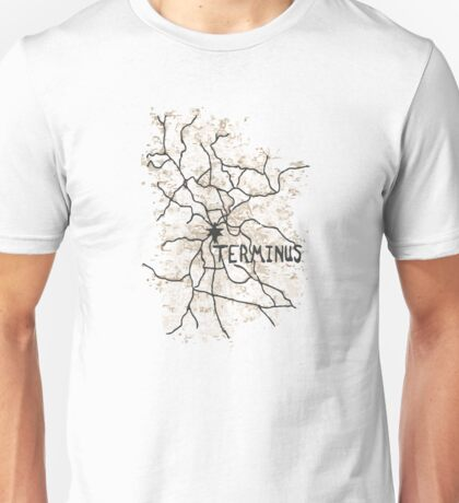Terminus Map Unisex T-Shirt
