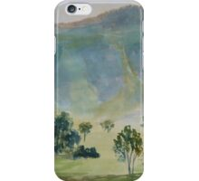 Distant Hills iPhone Case/Skin