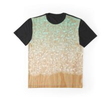 Abstract Pattern on Wood Graphic T-Shirt