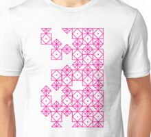 Geometric Pinks Unisex T-Shirt