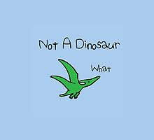 Pterodactyl - Not A Dinosaur by jezkemp