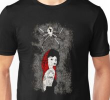 Black Widow by Allie Hartley  Unisex T-Shirt
