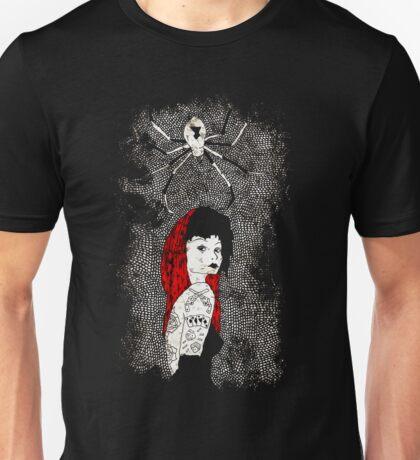 Black Widow by Allie Hartley  Unisex T-Shirt