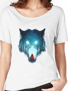 Big Bad Wolf (dark version) Women's Relaxed Fit T-Shirt