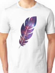 The Galaxy in a Feather Unisex T-Shirt