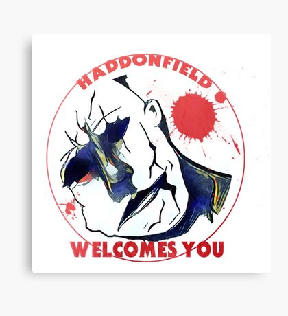 Haddonfield Welcomes You Canvas Print