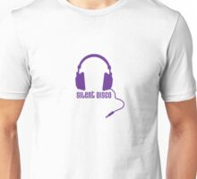 Silent Disco in Purple Unisex T-Shirt