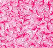 Knee-Deep in Pink Ink Sticker