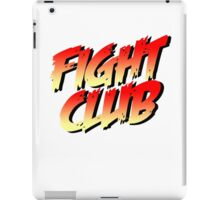 Fight Club - Street Fighter Shirt  iPad Case/Skin