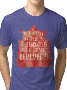 Spirit Quote Tri-blend T-Shirt