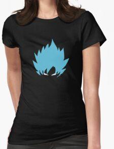Goku super saiyan god  Womens Fitted T-Shirt