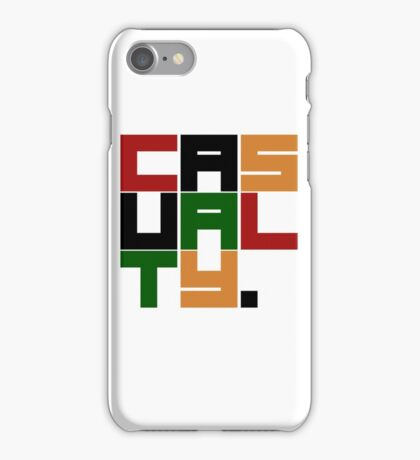 Casualty iPhone Case/Skin