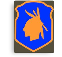 98th Infantry Division/Training Division 'Iroquois' (United States) Canvas Print