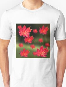 Falling Autumn Leaves Unisex T-Shirt