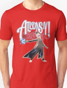 Allons-Y! - Brown Suit T-Shirt