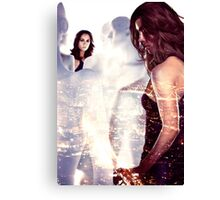 Dollhouse - Eliza Dushku Canvas Print