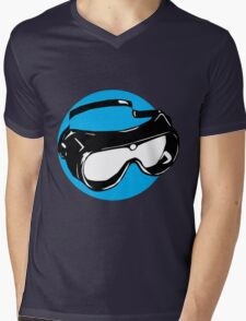 Goggles Mens V-Neck T-Shirt
