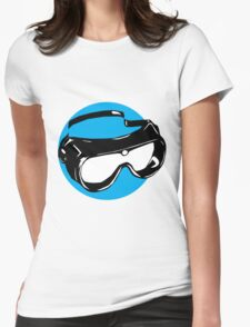 Goggles Womens Fitted T-Shirt