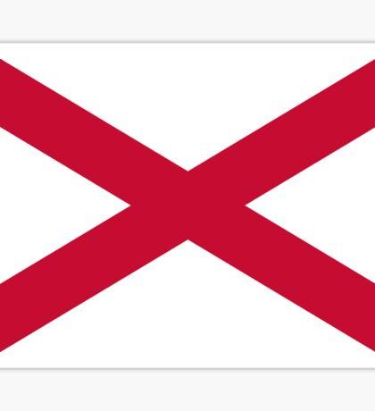 Saint Patrick's Saltire Flag Sticker