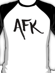 AFK - Black T-Shirt