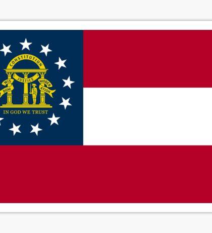 Georgia Flag Sticker